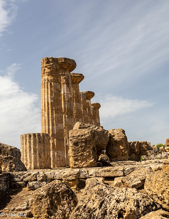 092121.  Agrigento, Temple of Hercules.
