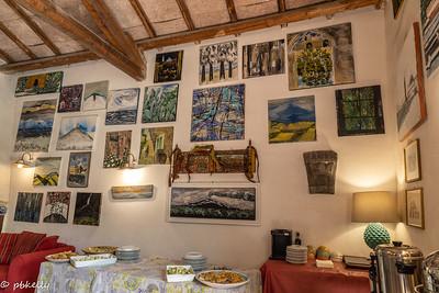 091621.  The owners artwork at Agriturismo Trinita