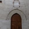 Door to the Palazzo Montalto.  Strikingly simple.