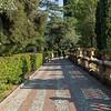 Promenade in the public garden.