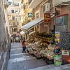 Side street in Taormina.