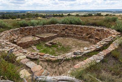 Atsinna Pueblo overlook