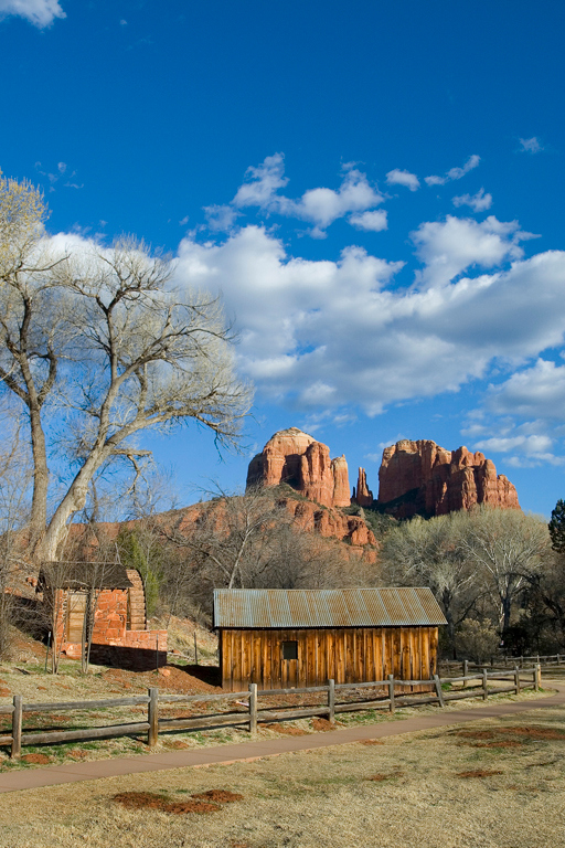Catherdral Monoliths in Sedona