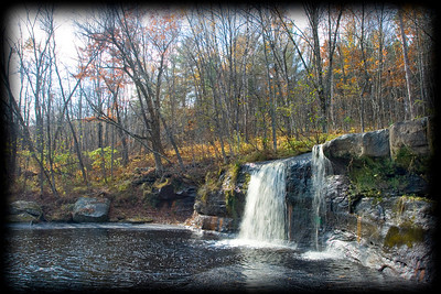 Wolf Creek Falls in Banning State Park.