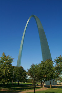 Gateway Arch with Trees