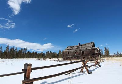 Old Cabin outside Fraser, CO.