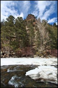 Stream along Highway 6 West of Boulder, CO.