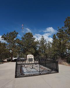 Buffalo Bill's grave.