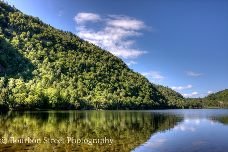 Lower Cascade Lake in Jay NY