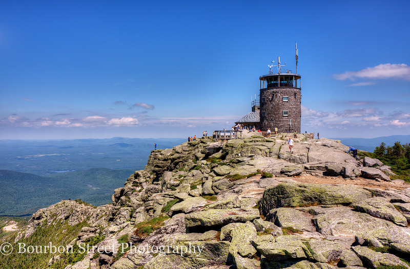 Summit House on Whiteface Mountain