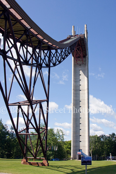 120m tower at the Olympic Ski Jumping Complex at Lake Placid