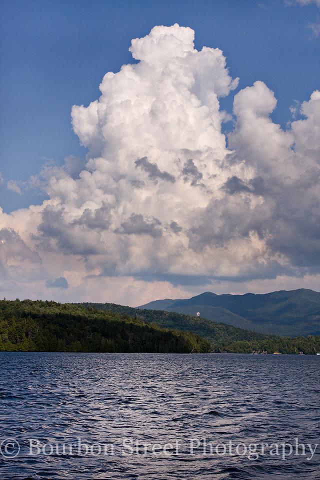 Boat tour on Lake Placid