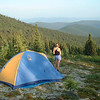 Credit: Chena Hot Springs Resort<br /> <br /> Tent camping in the Chena River State Recreation Area.