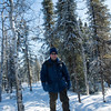 Snowshoeing in Denali National Park and Preserve.
