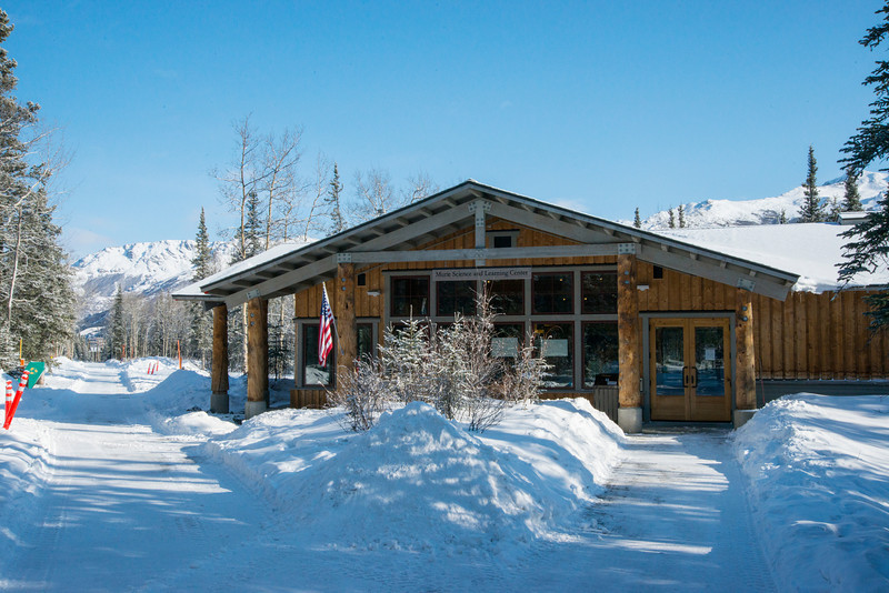The Murie Science and Learning Center in Denali National Park and Preserve.