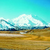 A view of Mt McKinley from within Denali National Park and Preserve.<br /> <br /> Credit: Mok Kumagi/FCVB