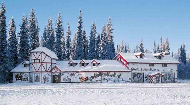 The Santa Claus House in North Pole, Alaska.