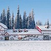 The Santa Claus House in North Pole, Alaska.