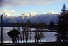 21/10/1999 - Looking Across at Fiordland National Park From Te Anau, NZ