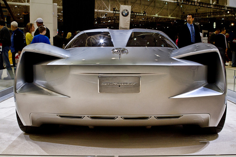 Chevy Stingray Corvette concept car