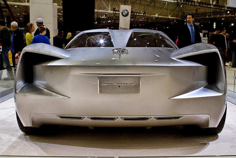 Chevy Stingray Corvette concept car