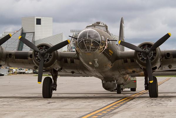 Memphis Bell, B-17 Bomber<br /> 2011 Cleveland National Air Show