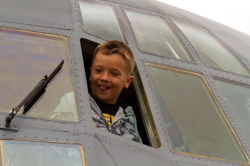 A future pilot?  <br /> 2011 Cleveland National Air Show