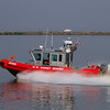 The US Coast Guard was busy keeping boaters in the safety zone.
