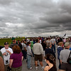 The Cleveland crowd - check out that gloomy sky!<br /> 2011 Cleveland National Air Show