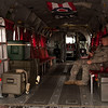 Transport bay of a MH-47 Chinook Helicopter<br /> 2011 Cleveland National Air Show