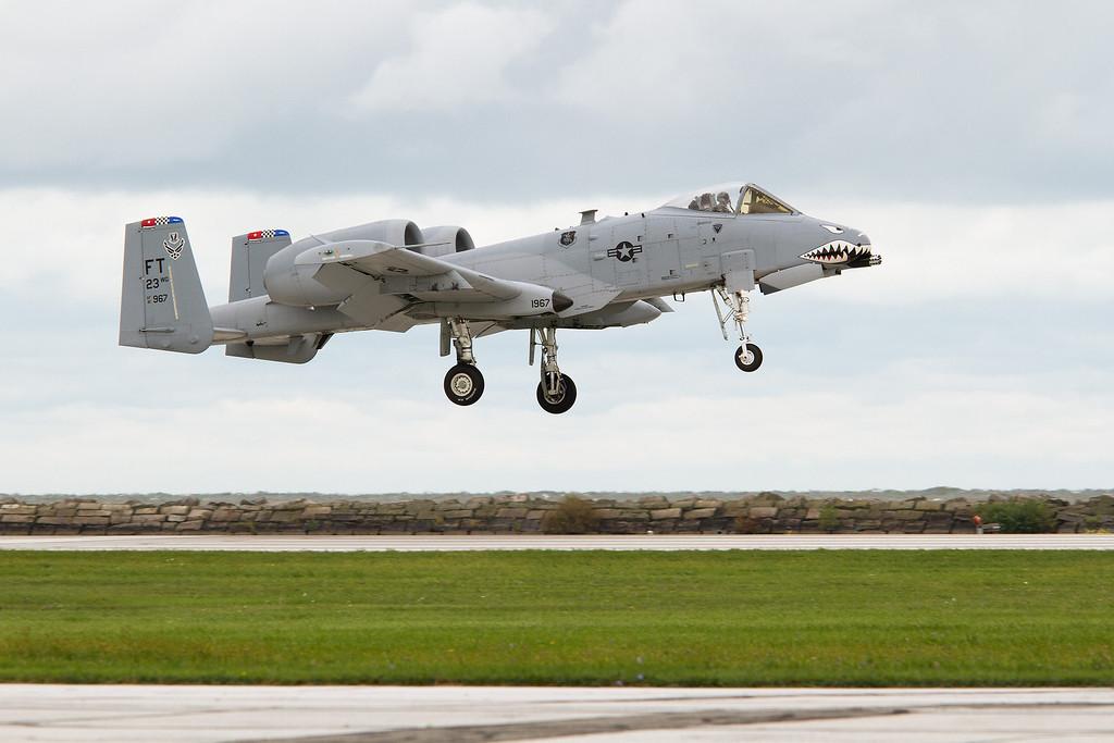 A-10 Thunderbolt III<br /> 2011 Cleveland National Air Show