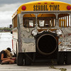 Getting the School Time Jet Bus ready for the next run.<br /> 2011 Cleveland National Air Show