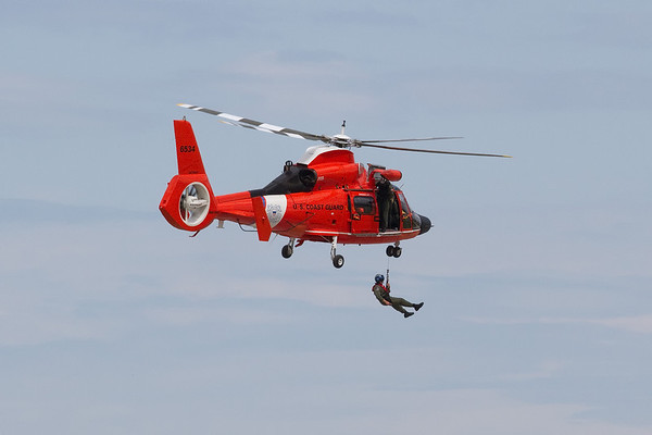 Coast Guard in action<br /> Cleveland National Air Show 2010