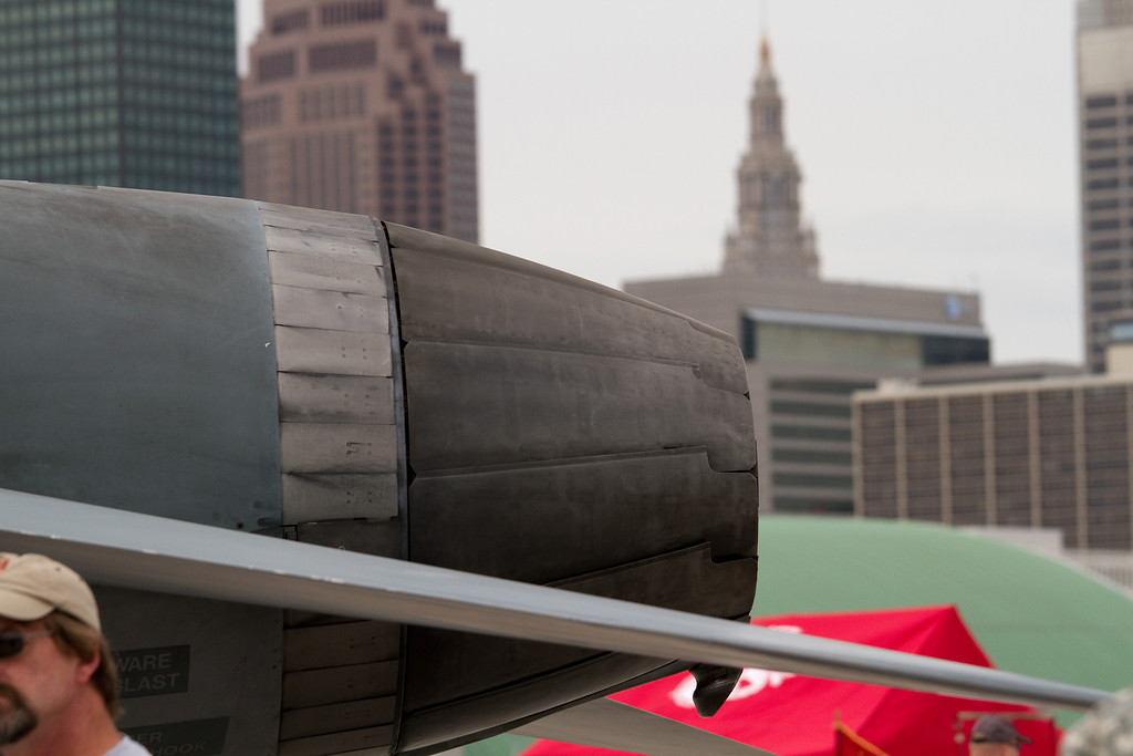 Exhaust of a F-18 Hornet<br /> Cleveland National Air Show 2010