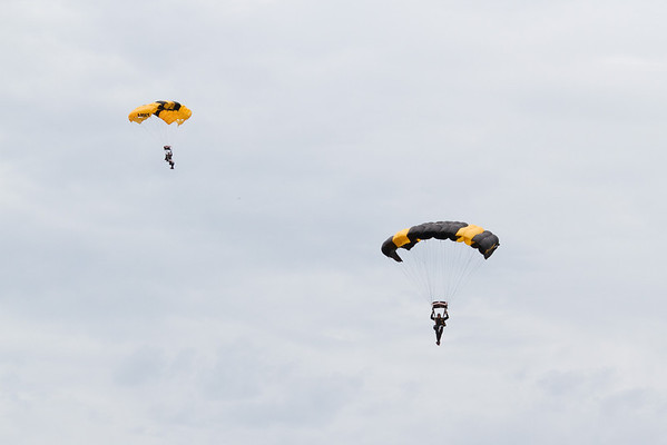 Golden Knights<br /> Cleveland National Air Show 2010
