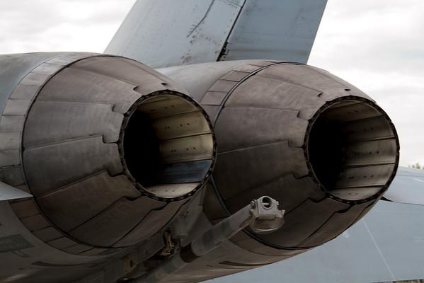 LIght em' up!  F-18 Hornet<br /> Cleveland National Air Show 2010