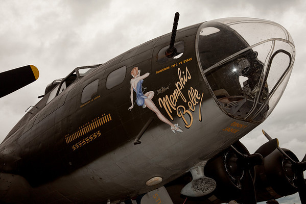 B-17 Bomber, the Memphis Bell<br /> 2011 Cleveland National Air Show