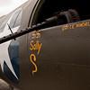 Memphis Bell, B-17 Bomber and a 50 caliber machine gun<br /> 2011 Cleveland National Air Show