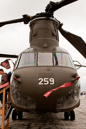 MH-47 Chinook Helicopter<br /> 2011 Cleveland National Air Show