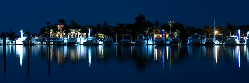 """Naples Florida - photo taken a short walk from the Dock restaurant.<br /> Cropped for a 36""""x12"""" print or a 30""""x10"""" print."""