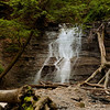 Lower Blue Hen Falls, also known as Buttermilk Falls.