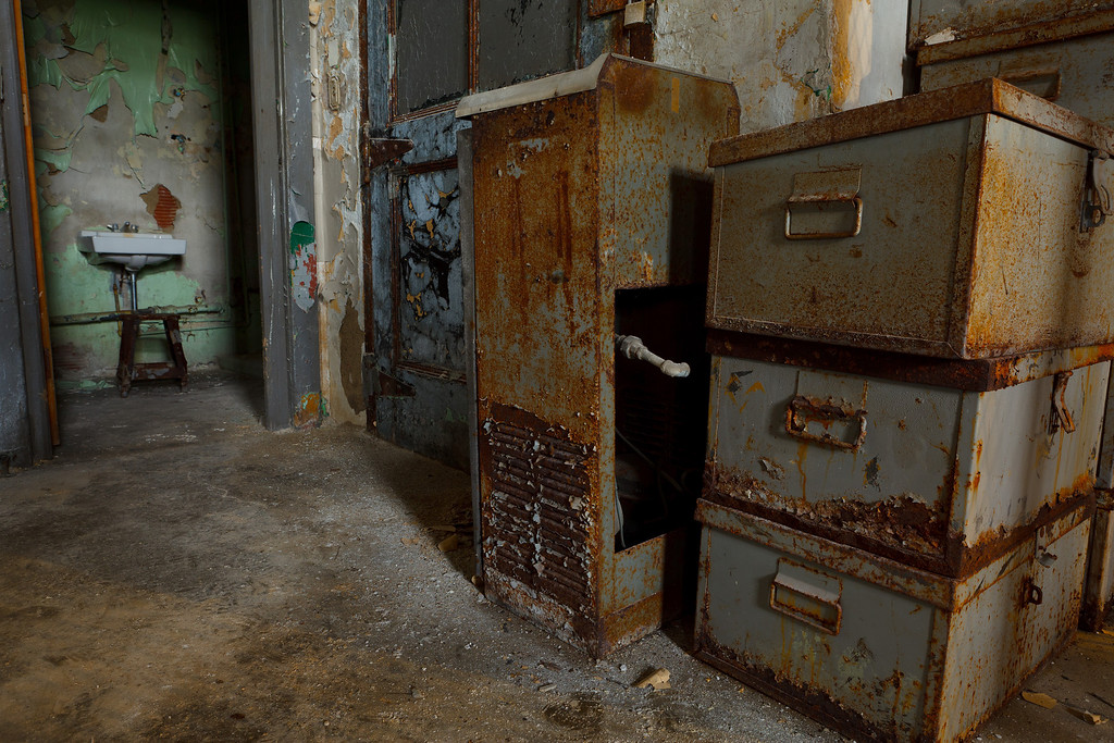 "The East Showers and Commissary ""Toilet Room""<br /> Mansfield Reformatory<br /> EOS 5D Mark II_4961"