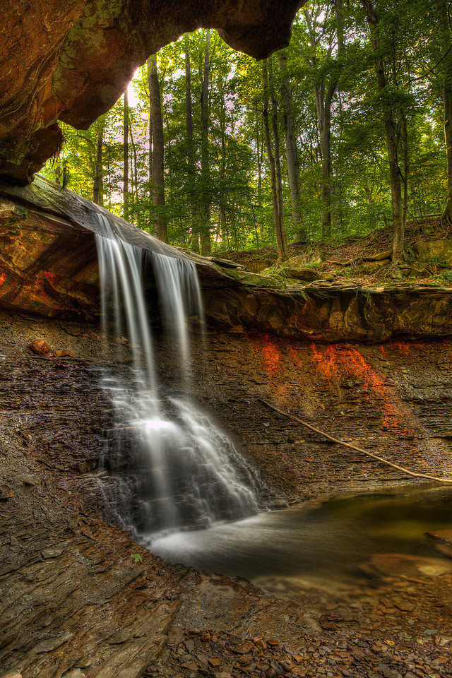 Upper Blue Hen Falls; slideshow2015