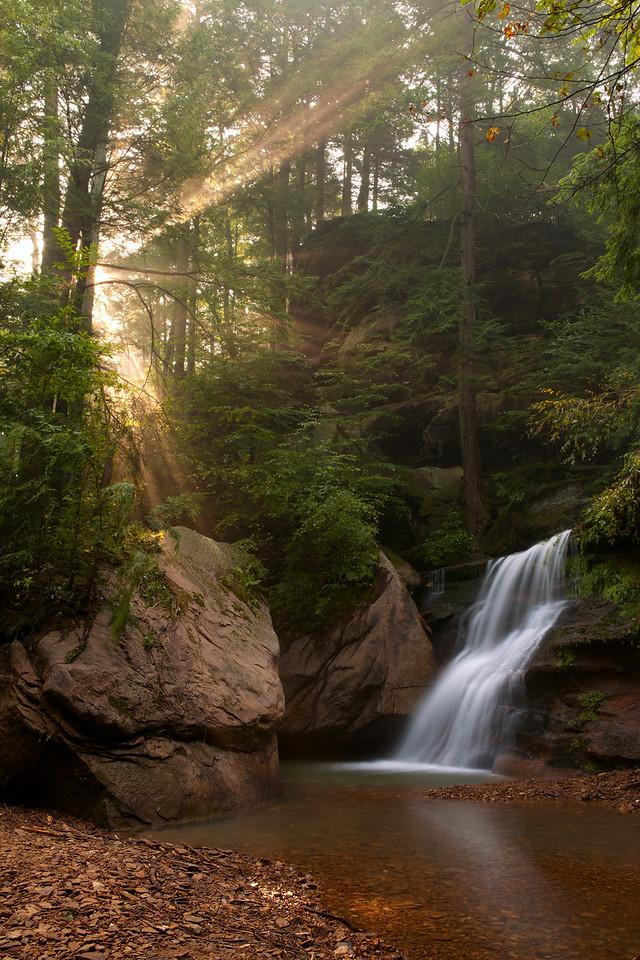 Upper Cedar Falls<br /> Hocking Hills State Park