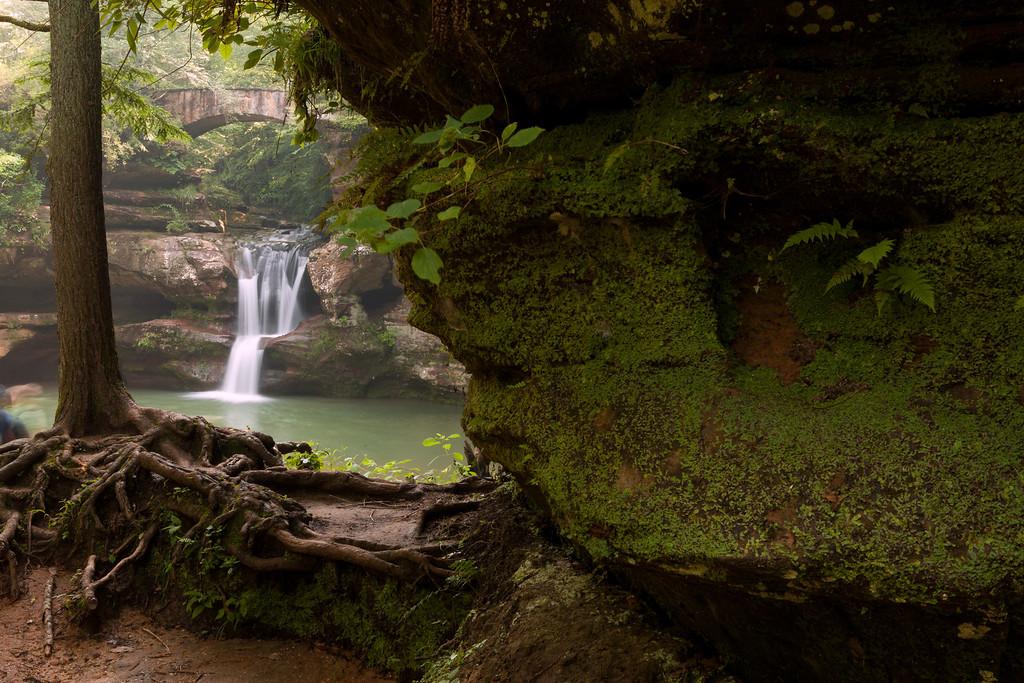 Falls near Old Man's Cave<br /> Hocking Hills State Park; slideshow2015