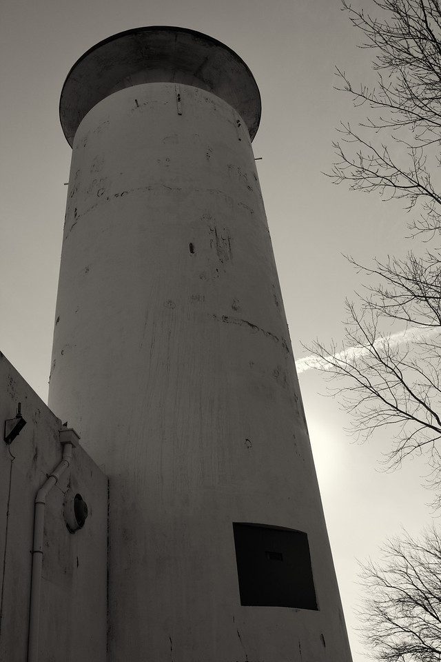 Whiskey Island US Coast Guard Tower.