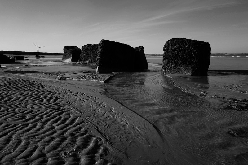 Rocks On Barmston Beach