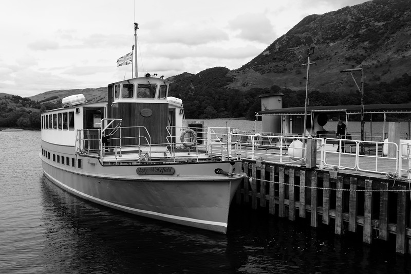 Cruise Boat On Ullswater, Lake District