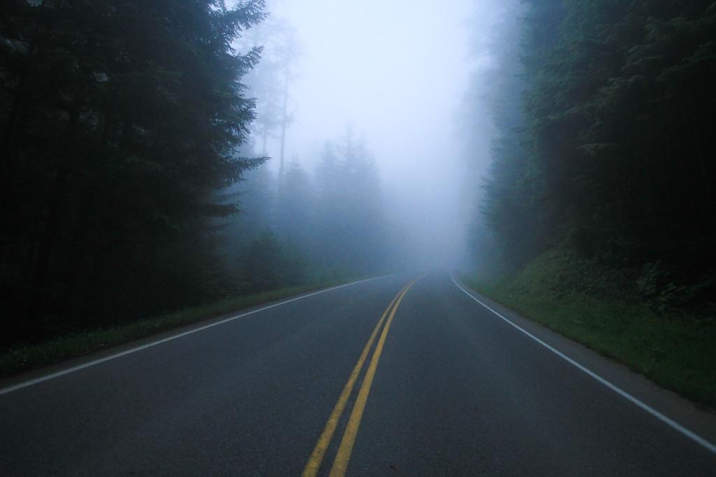 Lonely Road, Washington, USA