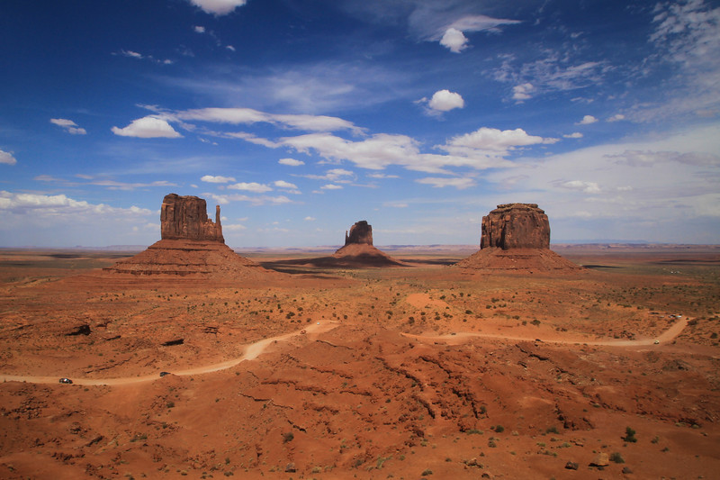 Monument Valley Navajo Tribal Park, Utah/Arizona, USA